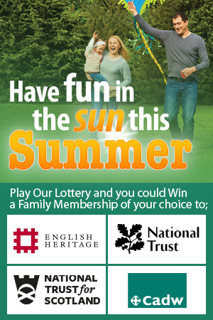 Support and win one of two 12 month family heritage passes!