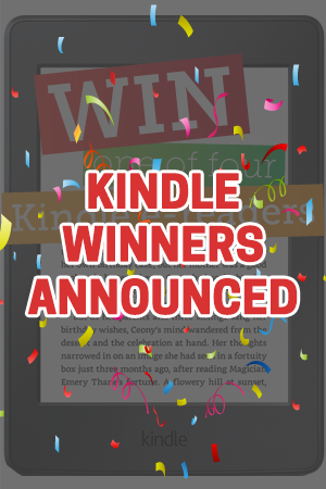 Congratulations to our Kindle winners!