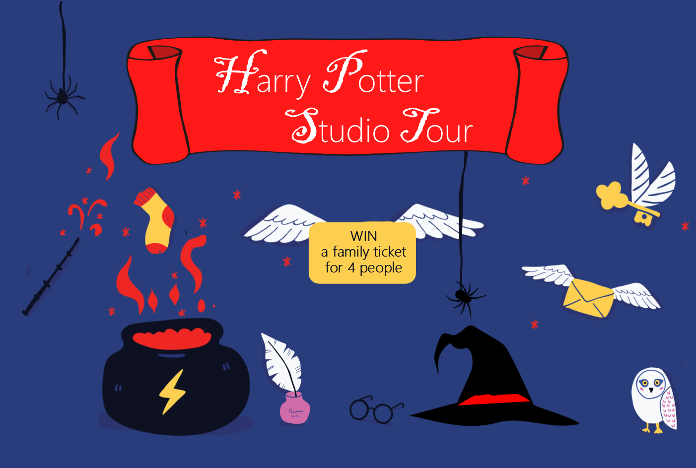 WIN A Family Ticket For The Harry Potter Studio Tour