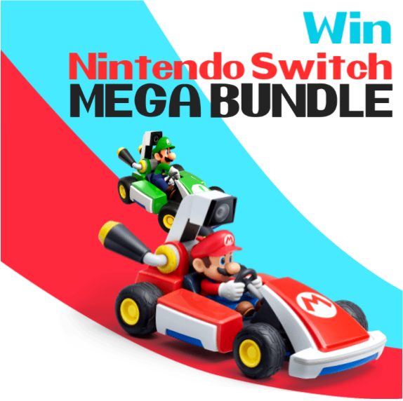 WIN A Nintendo Switch Mega Bundle