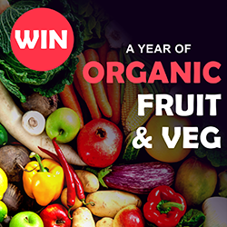 WIN Organic Fruit & Veg For A Year!